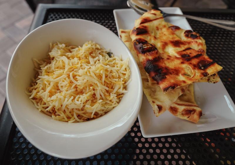 Lemon Basmati and Grain Naan