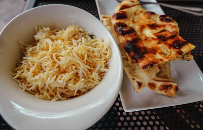 Lemon Basmati and Grain Naan