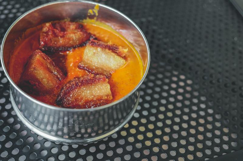 Roasted Pork Tomato Curry