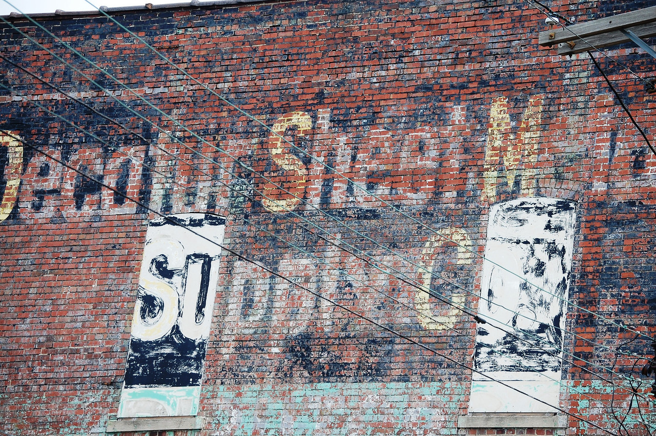 Ghost Sign in Normal, IL