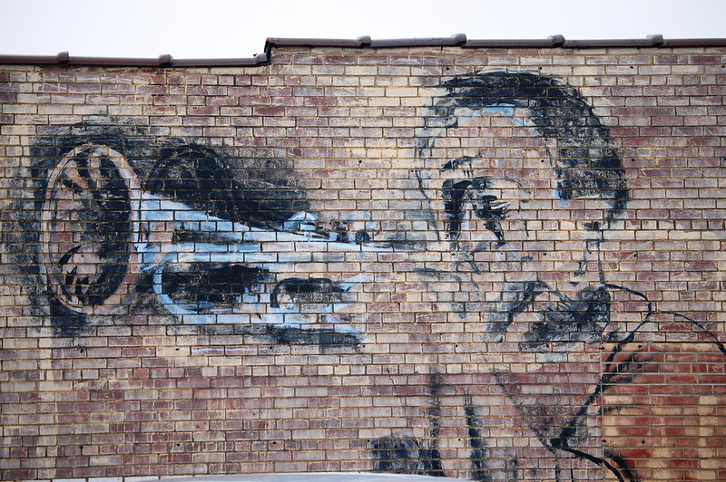 Old Mural Painting in St. Louis, MO