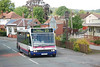 """Shot of the # 23 bus heading back to Stoke On Trent Station <br /> <br /> The bus stop is right outside that Shop with the white front just behind the back of the bus on the right <br /> <br /> <a href=""""http://www.stokebus.info/timetables/23.pdf"""">http://www.stokebus.info/timetables/23.pdf</a><br /> <br /> wanna make pic bigger? <br /> <br /> New to Smugmug??<br /> <br /> To read the print clearly / make picture bigger : <br /> <br /> Best way to read it if you new to Smugmug<br /> Put your mouse pointer over pic and double click which blows it up. <br /> <br /> Then in the Bottom RIGHT hand corner there is a RESIZE BUTTON so select size you want. <br /> <br /> To cancel and come back just click the big X in top right hand side"""