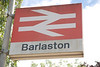 Barlaston even still has it old style BR station sign