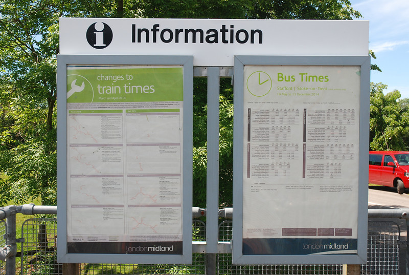 There isnt much in the way of info at Wedgwood only the Bus times on Plat 1 entrance best viewed blown up see below <br /> <br /> New to Smugmug??<br /> <br /> To read the print clearly / make picture bigger : <br /> <br /> Best way to read it if you new to Smugmug<br /> Put your mouse pointer over pic and double click which blows it up. <br /> <br /> Then in the Bottom RIGHT hand corner there is a RESIZE BUTTON so select size you want. <br /> <br /> To cancel and come back just click the big X in top right hand side