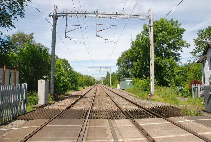 Other side of Crossing looking towards Stoke on Trent