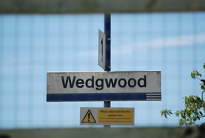 "Wedgwood <br /> <br /> Address <br /> <br /> Wedgwood Drive<br /> <br /> Stoke on Trent<br /> <br /> ST12 9ER <br /> <br /> National Rail Station info link <br /> <br /> <a href=""http://www.nationalrail.co.uk/stations/WED/details.html"">http://www.nationalrail.co.uk/stations/WED/details.html</a><br /> <br /> Like Barlaston this Station has no Trains and you better off doing the bus: <br /> <br /> Stoke on Trent Bus info here <br /> <br /> <a href=""http://www.stokebus.info/timetables.htm"">http://www.stokebus.info/timetables.htm</a><br /> <br /> Table 23 for Bus from Stoke Station to Wedgwood and Barlaston <br /> <br /> <a href=""http://www.stokebus.info/timetables/23.pdf"">http://www.stokebus.info/timetables/23.pdf</a>"