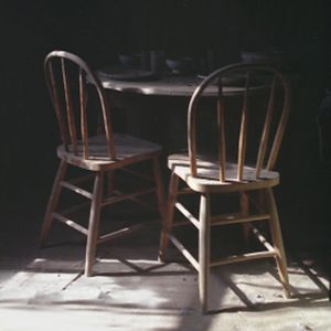 Kitchen Table and Chairs ( As this is a square photo, it is not available framed and there will be an additional cost for having a custom cut mat made for it of $25.00 )