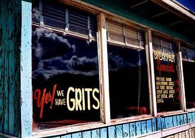 Yes! We have Grits...