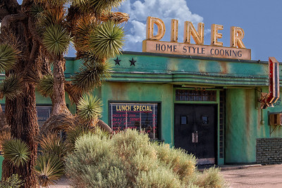 Joshua Trees and Diner