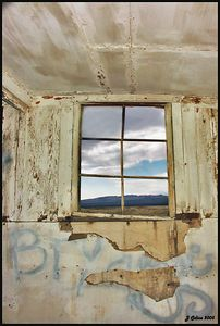Bullfrog Window #2 Rhyolite Nevada