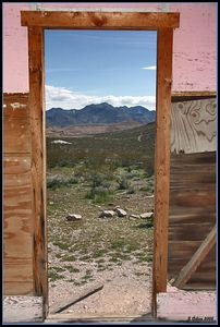 Pink Doorway... Rhyolite Nevada