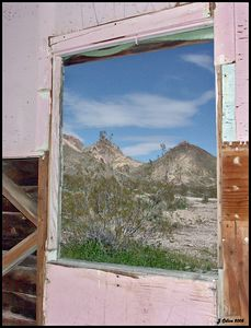 Pink Window Rhyolite Nevada