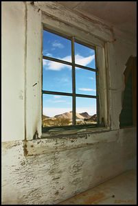 Rhyolite Ghostown Window