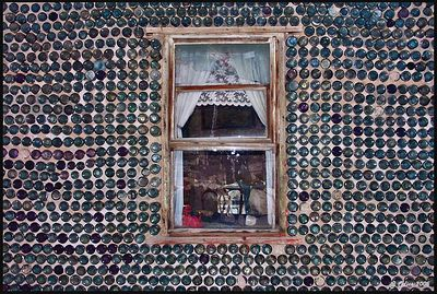 Tom Kelly's Window Rhyolite Nevada