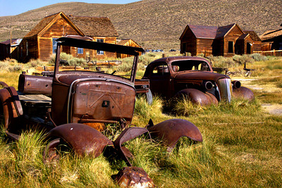 Ghost Town Used Car Lot