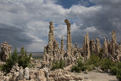 Mono Lake Storm Clouds