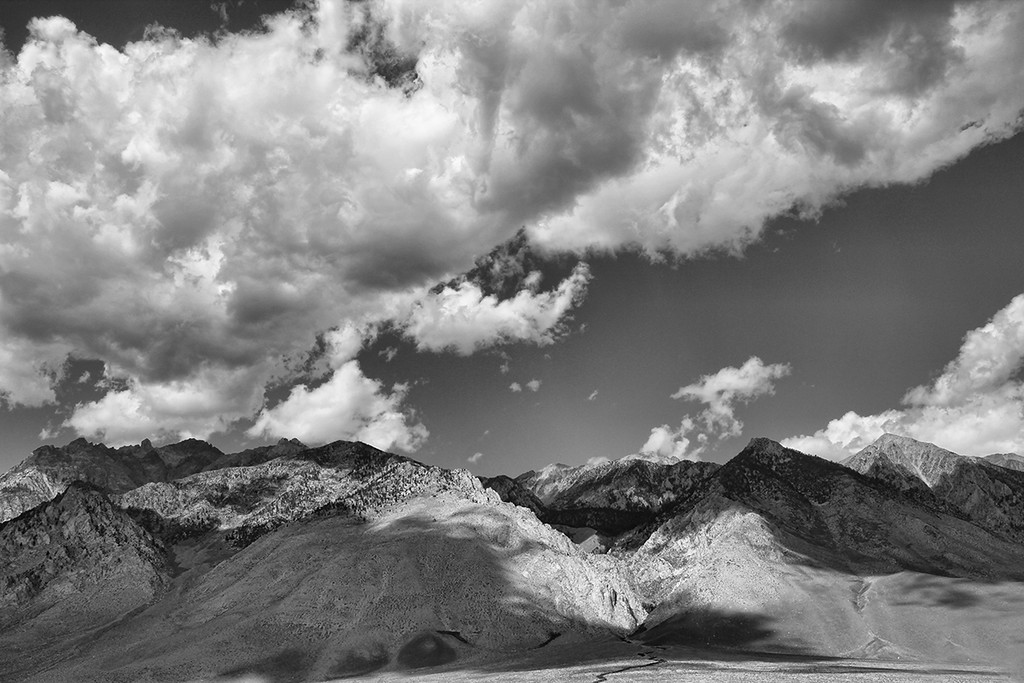 Inyo County Mountains and Clouds
