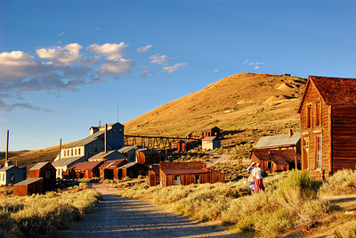Road to the Stamp Mill Bodie CA See more in the Friends of Bodie Day 2010 Gallery
