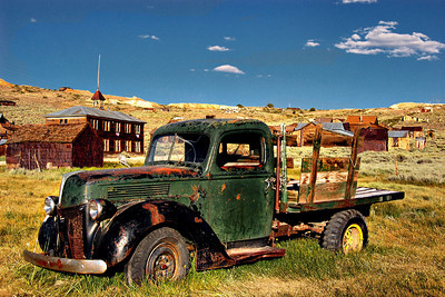 "Bodie's ""newest"" Old Icon This truck was stored in the General Store for over 40 years"