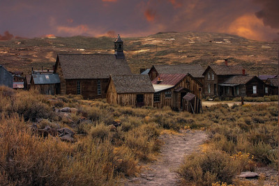 Evening Falls on Bodie