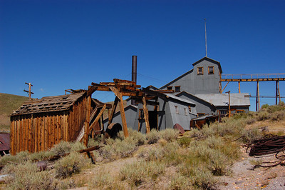 Standard Stamp Mill ( back) Bodie CA.