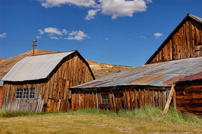 Old Bodie Barn