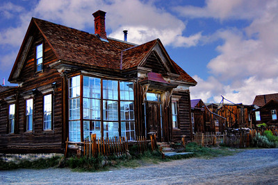 The J.S. Cain residence Bodie CA