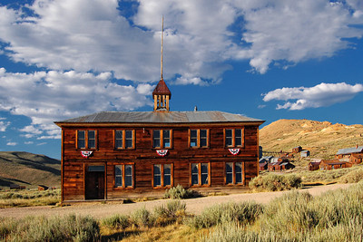 The Bodie School  House. Built in 1879.