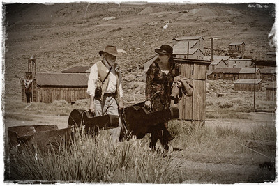 Mark Catrambone & Stacy Keith.  The Bodie Traveler's  http://www.thebodietravelers.com/
