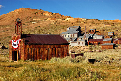 Golden Hour in Bodie