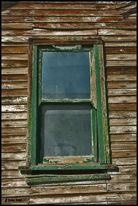 Green Framed Window Nelson Nevada