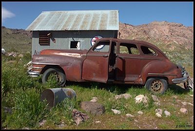 Rusty Car #1 Nelson Nevada