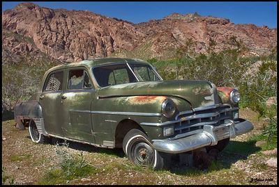 Rusty Car #5 Eldorado Mine Nelson Nevada