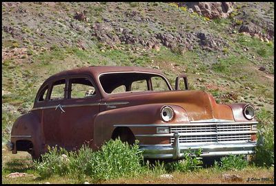 Rusty Car #2 Nelson Nevada