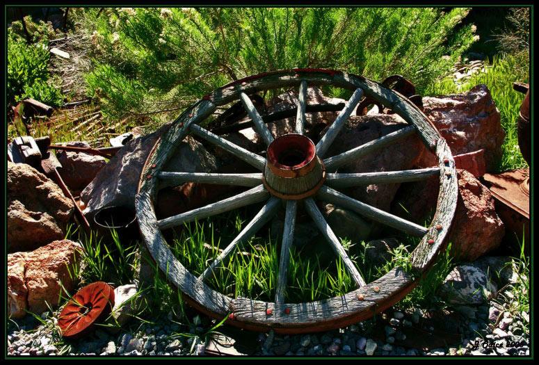 Wagon Wheel<br /> Eldorado Mine Nevada