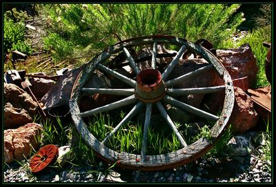 Wagon Wheel Eldorado Mine Nevada