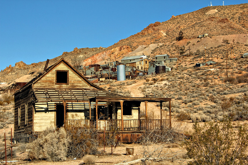 Tropico Mine #1 Rosamund California Private property, admission by permission only
