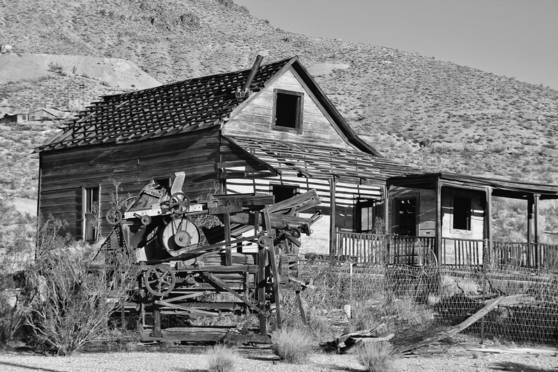 Tropico Mine #2 B/W Rosamund California Private property, admission by permission only