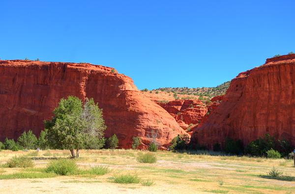 The Jemez Red Rocks