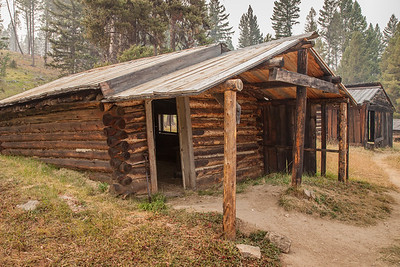 Garnet Ghost Town and National Historic Site, Montana