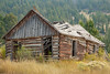 Old building in Elkhorn Ghost Town, Montana.