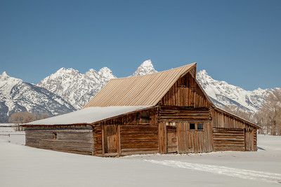 Old Barn, Mormon Row, Grand Teton National Park