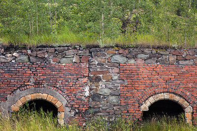 Coleman Coke Ovens, Crowsnest Pass, Alberta, Canada.