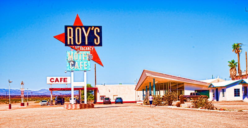 Roy's Motel & Cafe - Amboy, CA
