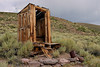 Outhouse, Tong Sing Wo residence, Bodie.