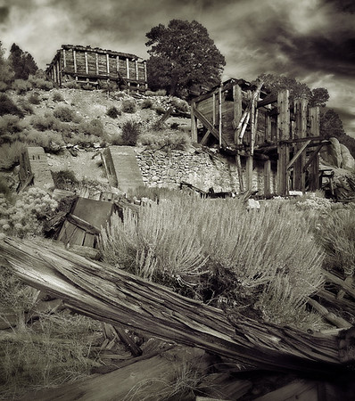 Remains of Mill, Masonic Ghost Town.