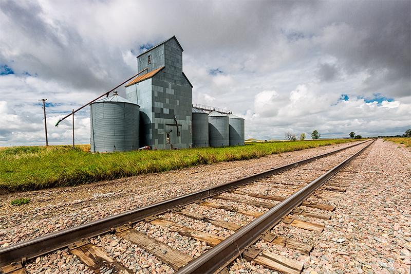 Grain Elevator, Griffin, North Dakota