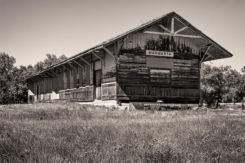 Marmarth Train Depot, North Dakota