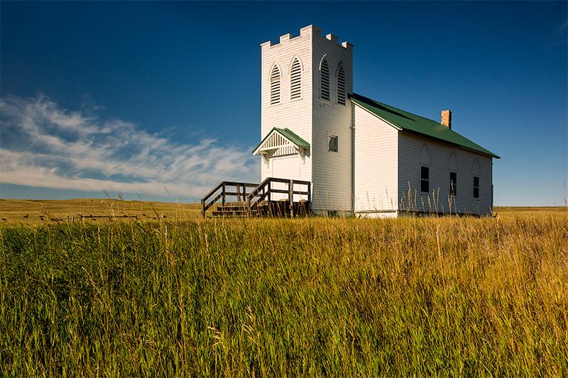 Abandoned Church, Trotters, North Dakota