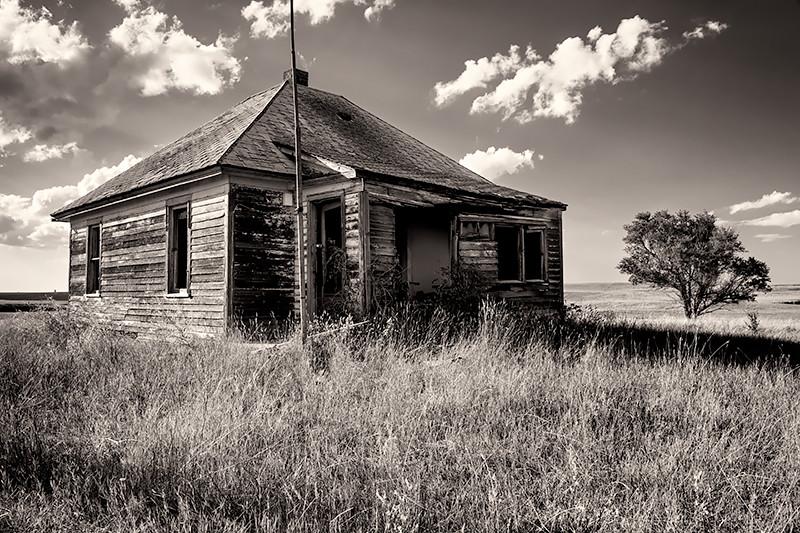 Charbonneau Ghost Town, North Dakota